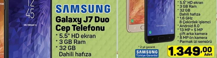 A101 Samsung Galaxy j7 Duo Teknik Özellikleri ve Fiyatı