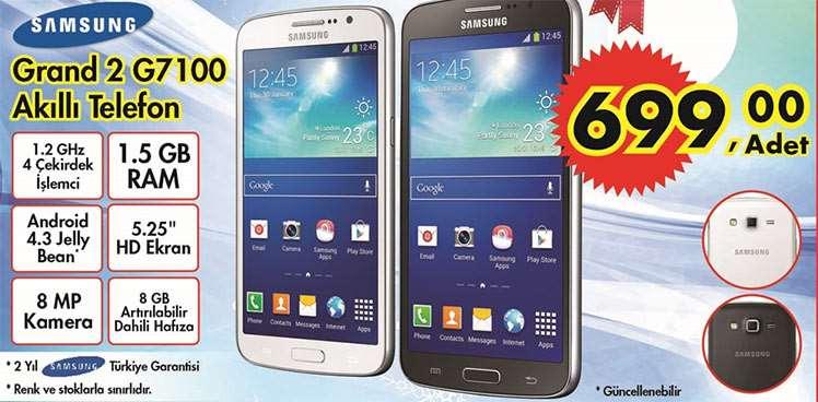 A101 Samsung Grand 2 g7100 Akıllı Telefon