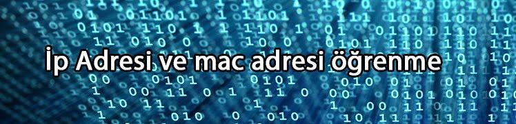 Android Telefonlarda İp Adresi ve Mac Adresi Nasıl Öğrenilir