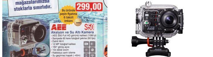 Bim Aee S50 Aksiyon Su Altı Kamerası Özellikleri ve Fiyatı
