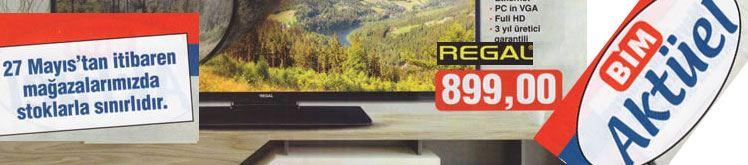 Bim Regal 42 İnç Full Hd Televizyon Özellikleri ve Fiyatı