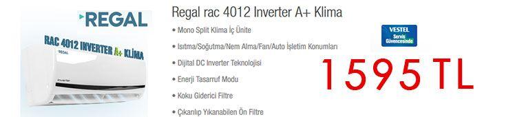 Bim Regal Rac 4012 İnverter Klima Özellikleri