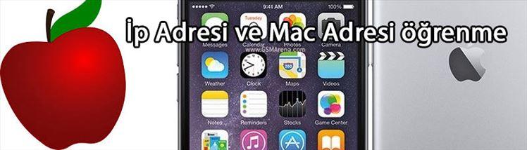 İphone Telefonlarda Mac Adresi Bulma, İp Adresi Öğrenme