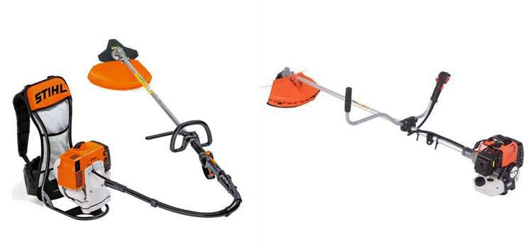 Motorlu tırpanlar, yan ve sırt tipi motorlu tırpan farkları