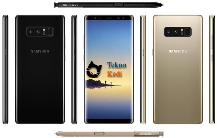 Samsung Galaxy Note 8 Teknik Özellikleri Ortaya Çıktı