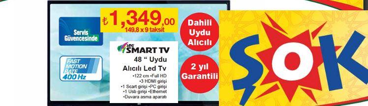 Seg 48 inç Smart Uydu Alıcılı Led Tv Teknik Özellikleri ve Fiyatı
