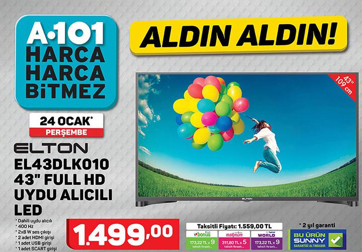 elton el43dlk010 led televizyon