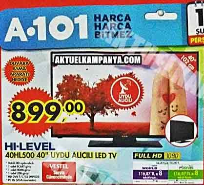 hi-level 40hl500 led televizyon