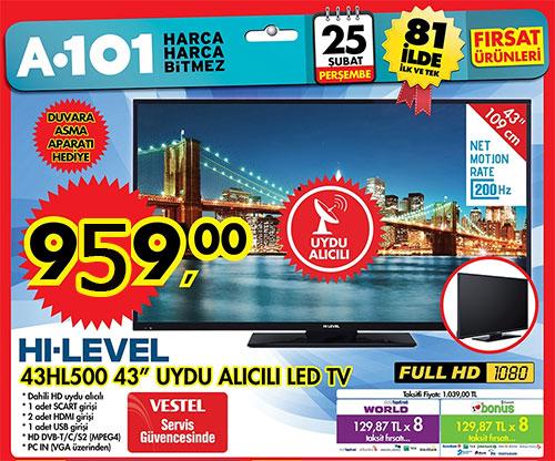 hi-level 43hl500