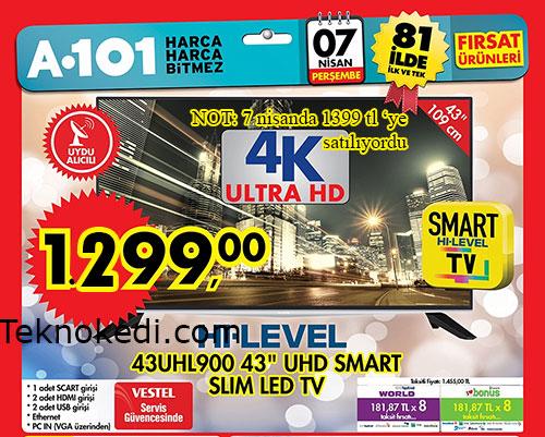 hi-level 43uhl900