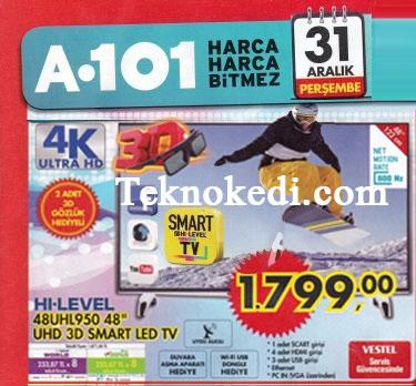 hi-level 48UHL950 smart led televizyon