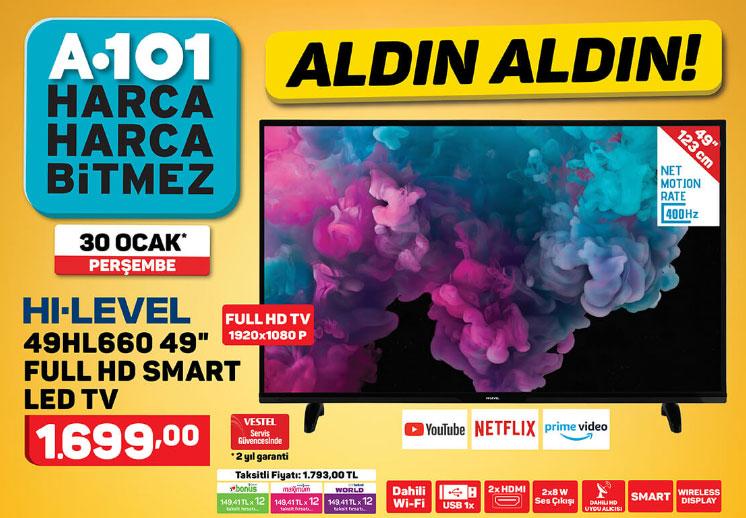 hi-level 49hl660 televizyon