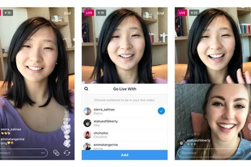 instagram canlı yayına kişi ekleme