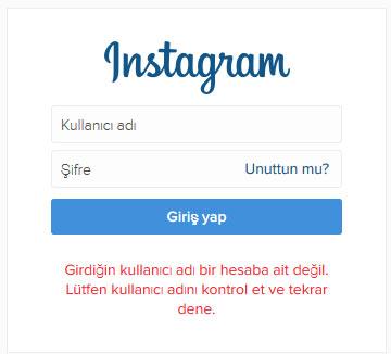instagram dondurdum açamıyorum