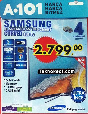 Samsung UE55K6500 curved tv incelemesi