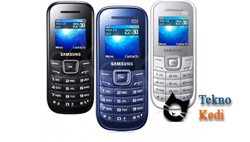 samsung e1205 asker telefonu