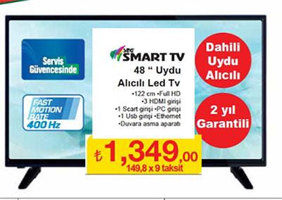 seg 48 inç smart led tv