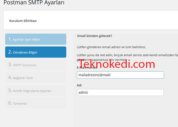 wordpress smtp